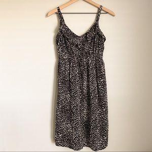 TORRID challice tank leopard black white sundress